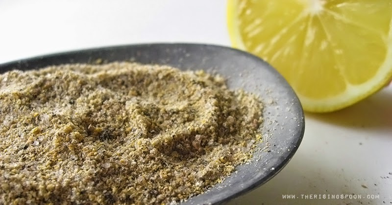 Homemade Lemon Pepper Seasoning Mix
