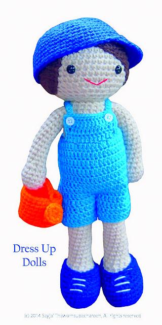 Ravelry: Lilly Doll: Dress Up Dolls Amigurumi Crochet Patterns ...   640x320