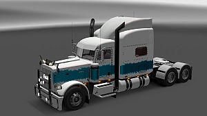 The Pearl skin for Peterbilt 389