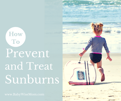 Preventing and Treating Sunburns