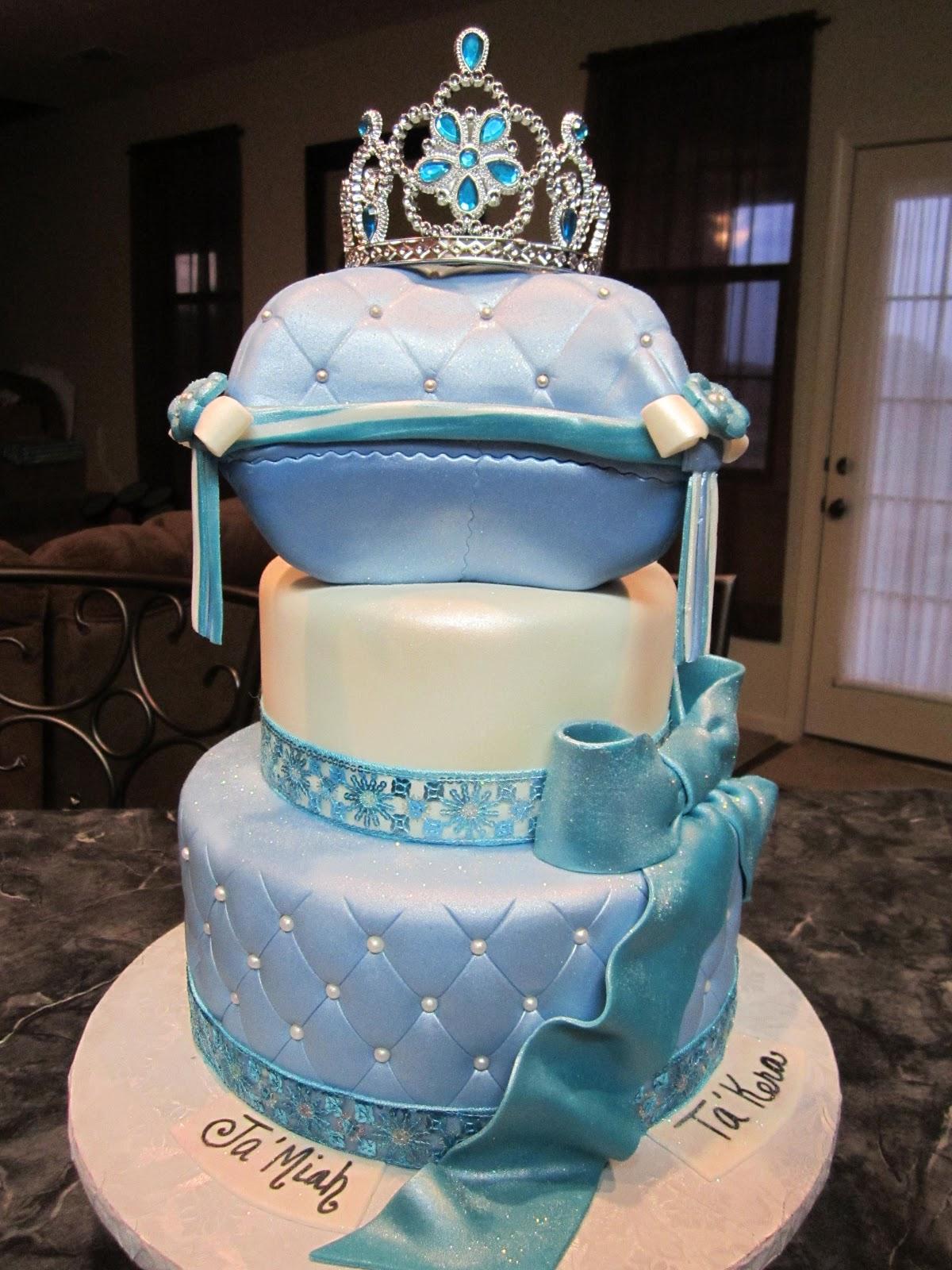 Mymonicakes Cinderella Inspired Princess Cake With