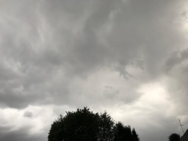 12 von 12 Mai 2017 - Regen