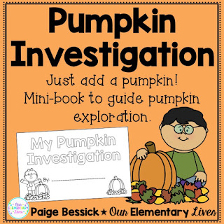 TpT Product for Pumpkin Investigation