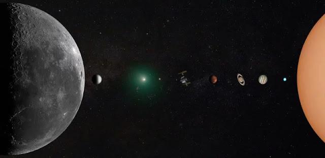 """Questo """"ritratto"""" del sistema solare è stato scattato dal giardino di un fotografo"""