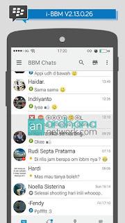 Download BBM Mod i-BBM V2.13.0.26 Terbaru