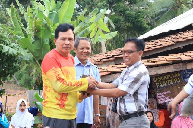 Walikota Prabumulih Resmikan Objek Wisata Danau Bujoan Desa Karangan