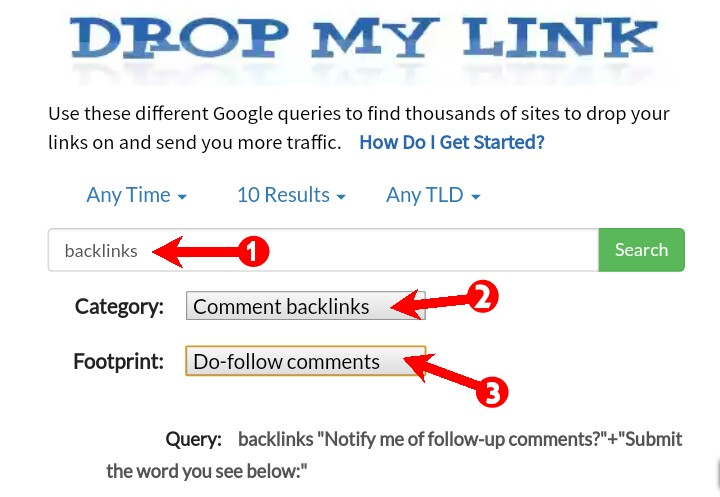 how to create backlinks for health niche website