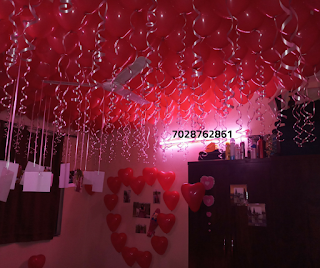 birthday room. birthday room decoration ideas for husband & Romantic Room Decoration For Surprise Birthday Party in Pune ...