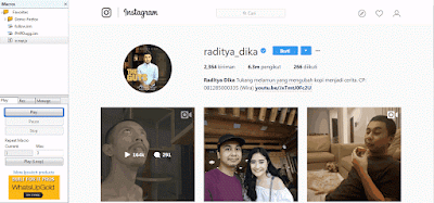 Membuat Script Untuk Auto Follow Instagram