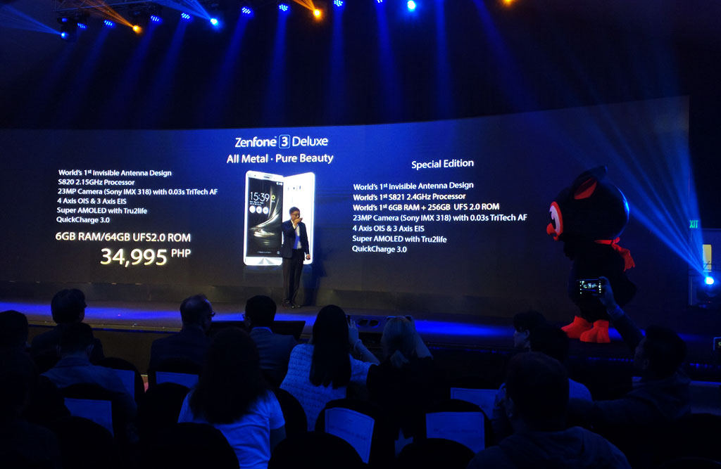 ASUS Zenfone 3 Deluxe (ZS570KL) Specifications