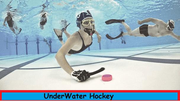 underwater hockey unknown thing