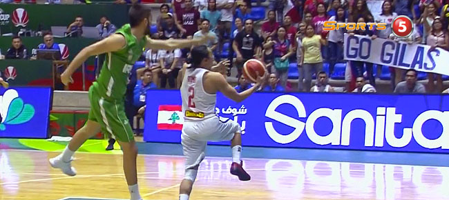 Terrence Romeo Steals and Finishes with the NASTY Reverse Layup (VIDEO) FIBA Asia Cup 2017