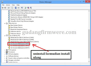 Cara Mengatasi Failure : Send Uart  Failur Research Download