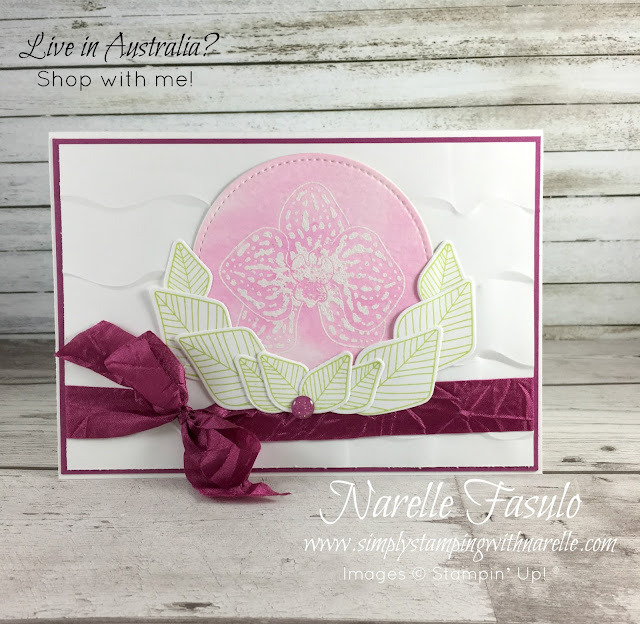 Climbing Orchid Stamp Set and Framelits - Simply Stamping with Narelle - shop here - https://www3.stampinup.com/ecweb/default.aspx?dbwsdemoid=4008228