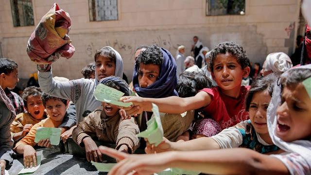 Krisis Yaman: Ribuan Orang Tewas, Jutaan Lainnya Mengungsi dan Kelaparan