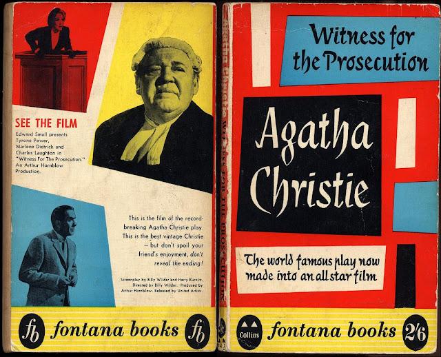 coperta cartii lui Agatha Christie