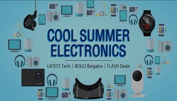 موقع gearbest يعرض منتجات بثمن صغير في الصيف باستعمال الكوبون  !