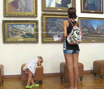 поездка в крым, художественная выставка