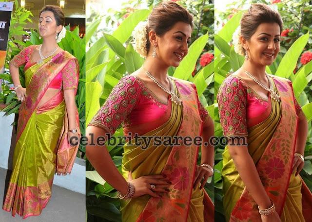 Nikki Galrani Silk Saris