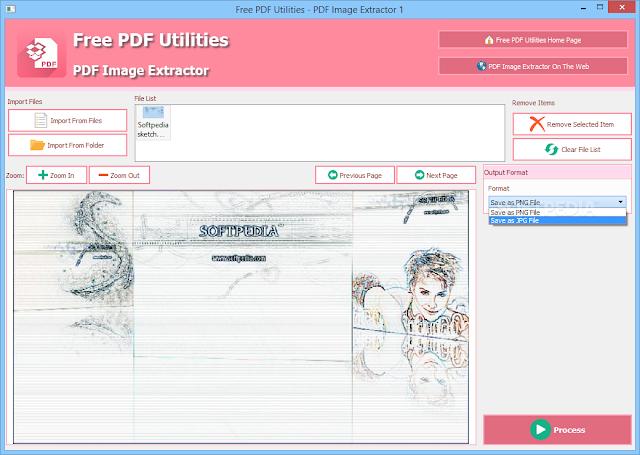 تحميل برنامج استخراج الصور من ملف pdf للكمبيوتر PDF Image Extractor