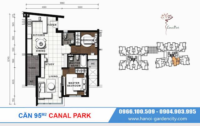chung cư Long Biên Canal Park, căn hộ Canal Park Long Biên