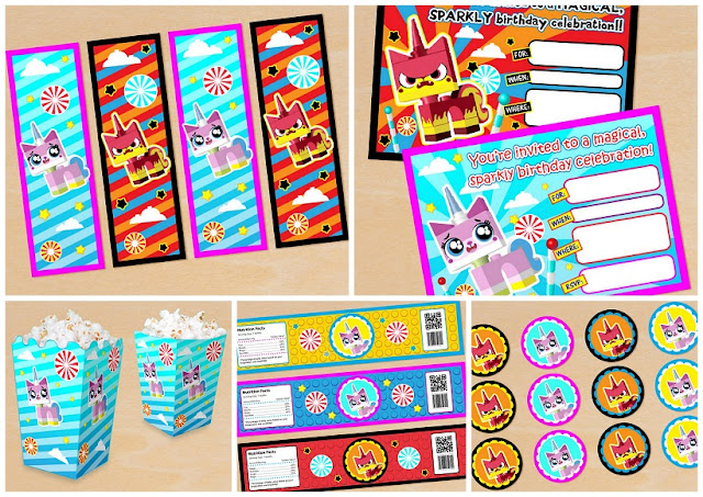 Lego Movie: Free Printable Party Kit.