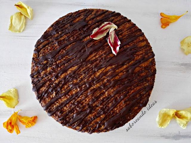 carrot-chocolate-cake, bizcocho-de-zanahoria-y-chocolate