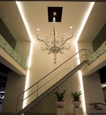 LED indirect lighting fixtures for wall and false ceiling