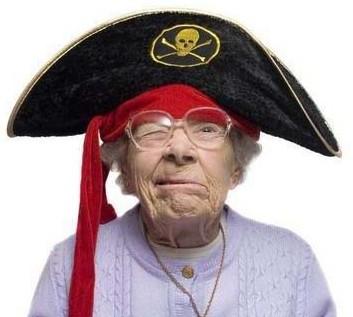 avó engraçada divertida