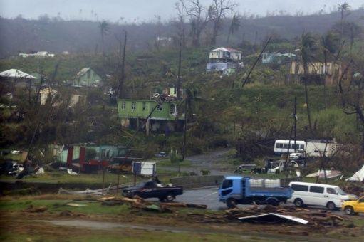 ONU libera tres millones de dólares para Dominica tras paso de María