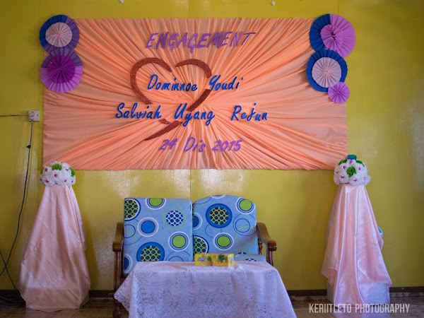 Dominnoe & Salviah Uyang Engagement | 24 December 2015
