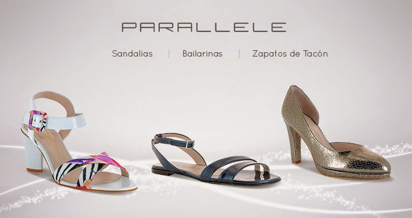 zapatos parallele mujer