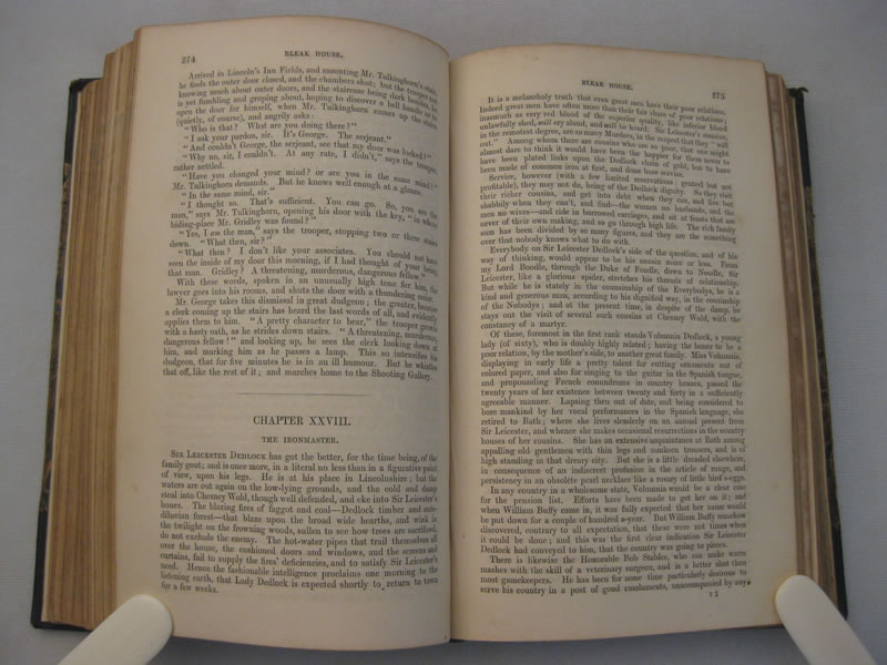 A First Edition Of Bleak House 1853