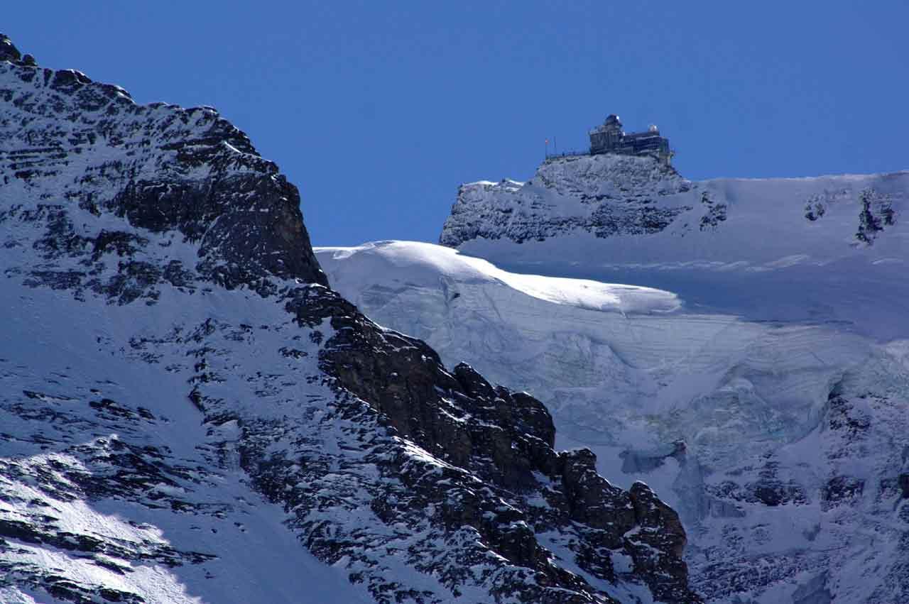 Sphinx Observatory in Switzerland