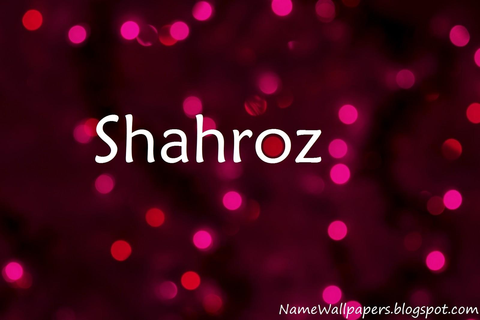 shahroz name