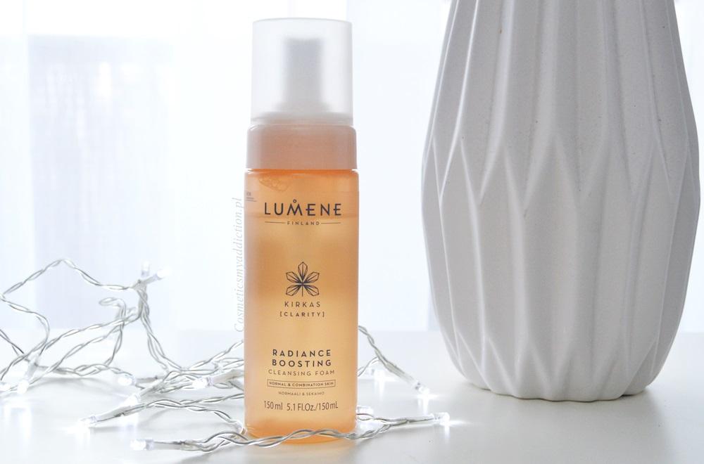 Lumene - rozświetlająca pianka do mycia twarzy Kirkas [Clarity]