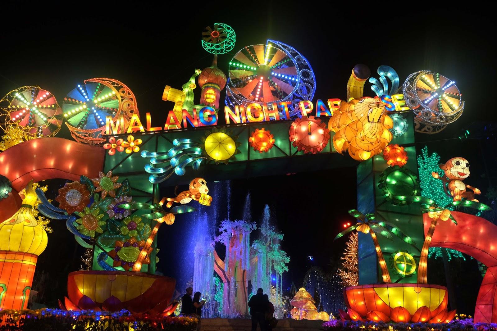 Malang Night Paradise Keindahan Visual Di Sudut Kota Cewealpukat Com
