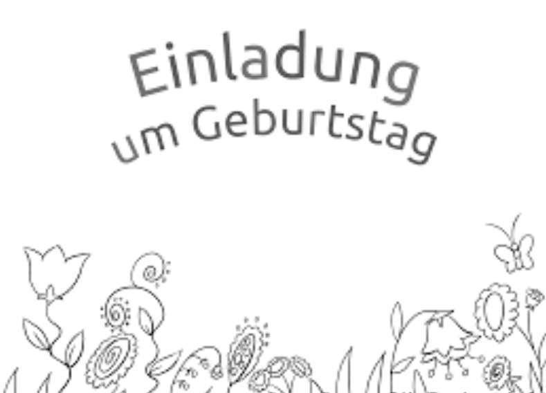 einladungskarte hochzeit: kindergeburtstag einladungen zum