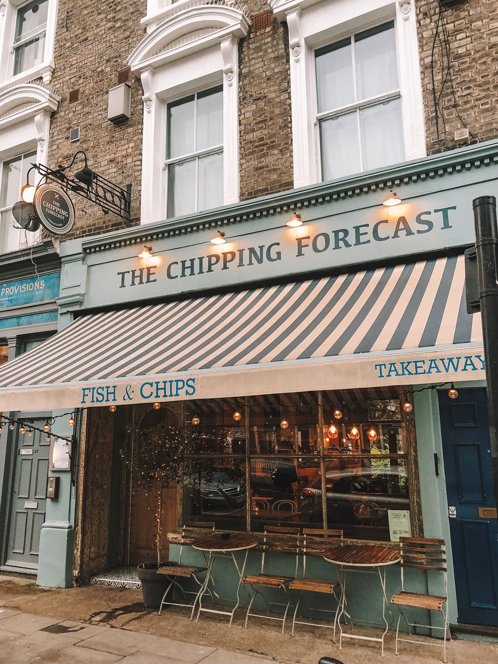 The Chipping Forecast in Notting Hill