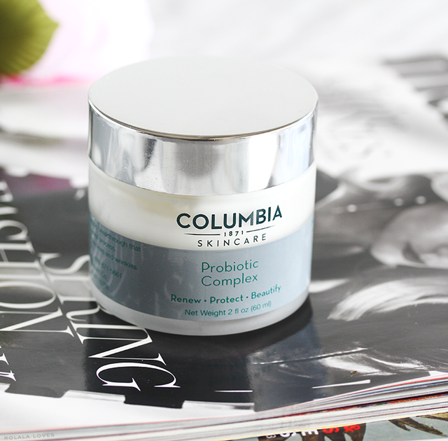 Columbia Skincare Probiotic Complex Review, Columbia Skincare Probiotics, Probiotic Skincare, Skincare Benefits Of Probiotics,
