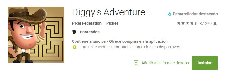 Diggy's Adventure