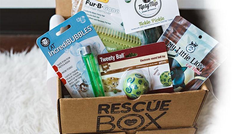 Best Pets Subscription Boxes - Rescue Box