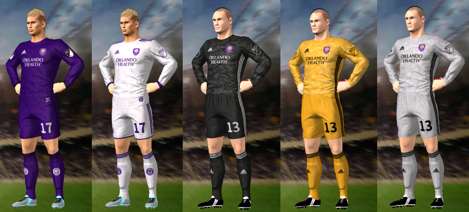 Update, Kits/Uniformes Orlando City