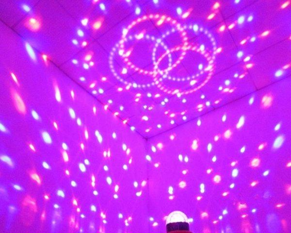 Trang trí hiệu ứng đèn karaoke