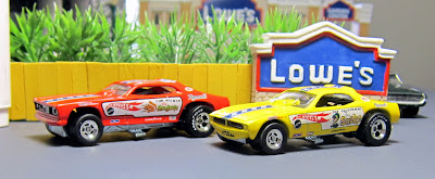 hot wheels snake and mongoose funny cars