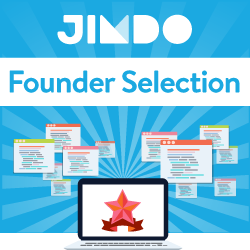 Jimdo Founder Selection 受賞
