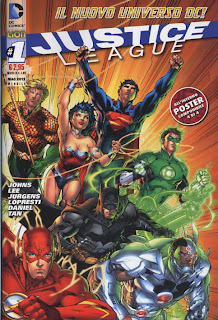 Justice league 1 cover
