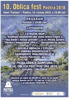 10. Oblica fest Postira 2018. slike otok Brač Online