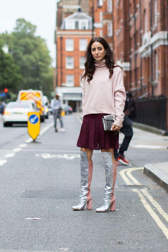 Tamara Kalinic London Fashion Week LFW SS17 Street Style