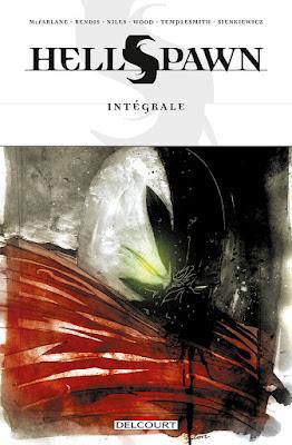 couverture de HellSpawn de Bendis, Niles, Wood, Templesmith et Sienkienwicz chez Delcourt